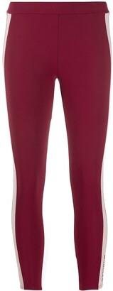 Moncler Side-Stripe Performance Leggings