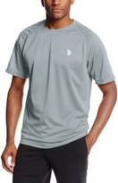 U.S. Polo Assn. Men's Solid Rash Guard UPF 50+ Swim T-Shirt