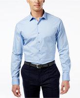 Alfani Regular Fit + Stretch Men's Dress Shirt, Only at Macy's