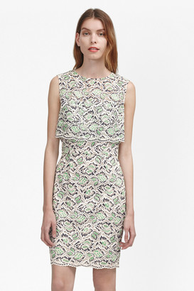 French Connection TALL Boccara Tiered Lace Dress