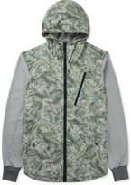 Christopher Raeburn Floral/Grey Hybrid Hoodie
