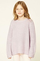 Forever 21 FOREVER 21+ Girls Seed Knit Sweater (Kids)