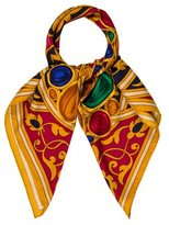 Chanel Jewel Print Silk Scarf