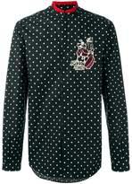 Dolce & Gabbana Good Times drummer patch shirt