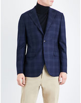 Boglioli Checked Regular-fit Wool Jacket