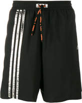 adidas stripe track shorts