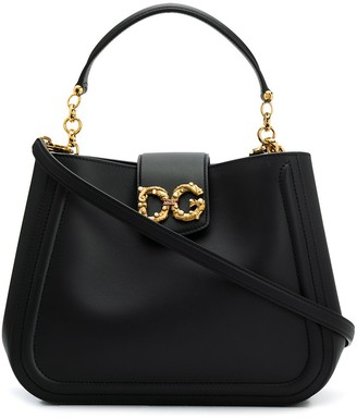 Dolce & Gabbana Sicily soft-leather tote bag
