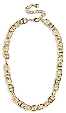 BaubleBar Jupiter Link Collar Necklace, 16-19