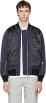 Tim Coppens Navy Ma-1 Bomber Jacket