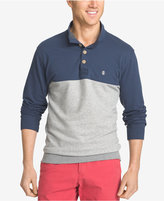 Izod Men's Big and Tall Jefferson Colorblocked Henley