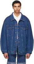 Y/Project Navy Oversize Denim Jacket