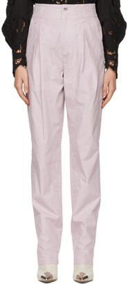 Isabel Marant Purple Kilandy Trousers