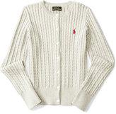 Ralph Lauren Cable-Knit Cardigan, Big Girls (7-16)