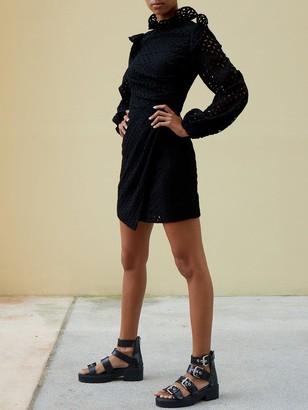 Paper London Spice Mini Dress - Black