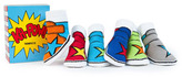 Trumpette 'Ka Pow' Socks Gift Set (Baby Boys)