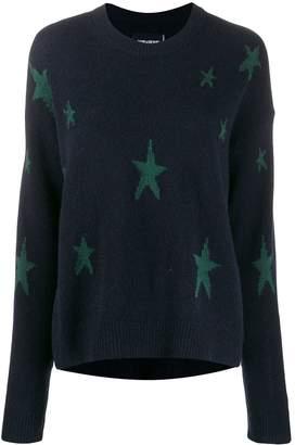 Zadig & Voltaire Zadig&Voltaire star-intarsia jumper