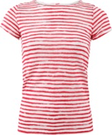 Majestic Filatures Striped Fitted Tee