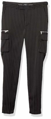 Forever 21 Men's Striped Cargo Pants