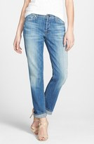 7 For All Mankind 'Josefina' Boyfriend Jeans (Bright Light Broken Twill)