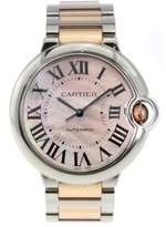Cartier Ballon Bleu Ladies Stainless Steel Pink Dial 33mm W6920070