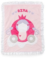 Boogie Baby The Carriage Plush Blanket, Pink
