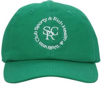 Sporty & Rich Asics Collab Cotton Cap