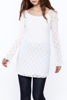 Only Hearts Stretch Lace Raglan