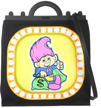 Moschino Good Luck Troll Print Top Handle Shoulder Bag