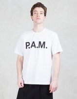 Perks And Mini P.a.m Logo Handmaiden S/S T-shirt