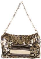 Jimmy Choo Embellished Shoulder Bag