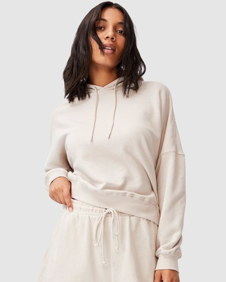 Cotton On Women's Neutrals Hoodies - Your Favourite Hoodie - Size XS at The Iconic