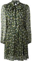 MSGM floral print Georgette dress