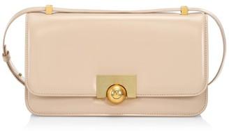 Bottega Veneta Small Ronde Patent Leather Shoulder Bag