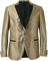 Tonello metallic dinner jacket - men - Cotton/Ramie/Cupro - 48
