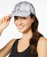 Steve Madden Sequined Baseball Cap