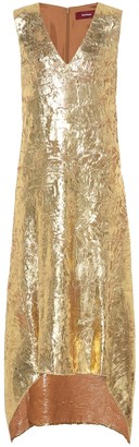 Sies Marjan Gwen metallic dress
