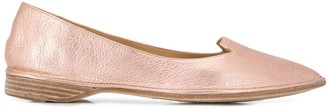 Antonio Barbato Pointed Ballerina Shoes