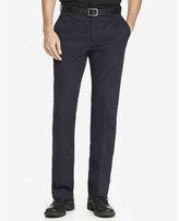 Express modern producer navy stretch cotton dress pant