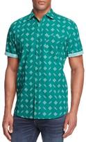 Sovereign Code Titan Bandana Print Regular Fit Button Down Shirt