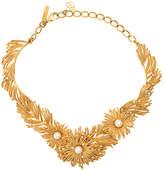 Oscar de la Renta pearl burst necklace