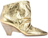 Marsèll metallic ankle booties