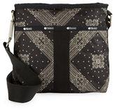 Le Sport Sac Printed Nylon Crossbody Bag