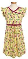 Tea Collection 'Souq' Floral Faux Wrap Dress (Little Girls & Big Girls)