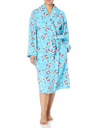 """Casual Moments Women's Plus Size 48"""" Wrap Robe"""