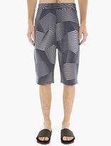 Neil Barrett Geometric Print Jersey Shorts