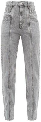 Etoile Isabel Marant Henoya Boyfriend Jeans - Grey