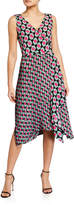 Diane von Furstenberg Tenley Printed Faux-Wrap Dress