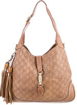 Gucci Medium Guccissima New Jackie Bag
