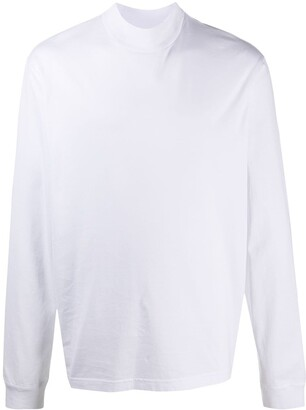 Acne Studios mock-neck long-sleeve T-shirt