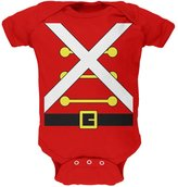 Old Glory Christmas Toy Soldier Costume Soft Baby One Piece - 3- months